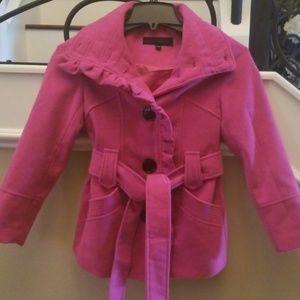 Steve Madden girls pink jacket.